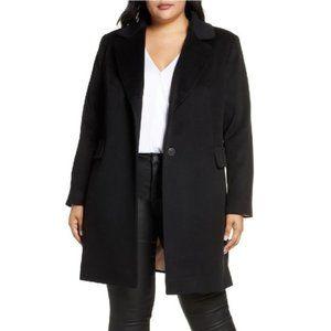 🎁 Fleurette Women's Plus Size Notch Collar Coat